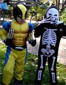 Wolverine & Skeleton